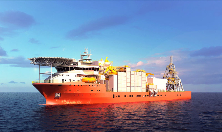 Alewijnse wins electrical fitout for world's largest diamond mining ship